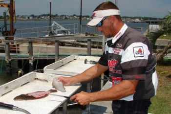 Just fillet your fish and donate the carcass to NCDMF's Carcass Collection Program.