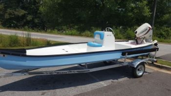 Ralph and Matt Mitchell are the makers of Santee Boats, and their 160 CC showcases features normally only found in bigger, more expensive boats.