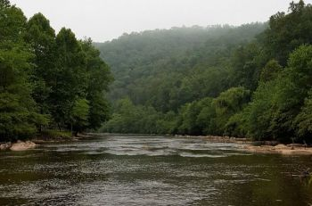 Low water conditions have plagued fishermen on the Tuckasegee River most of the summer.