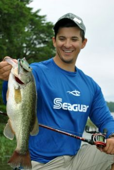 Dylan Fulk said hollow body frogs are his go-to lure all summer long.