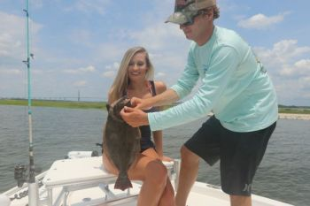 Many anglers overlook the virtues of using corks when flounder fishing, but that's a mistake, said Capt. Addison Rupert of Lowcountry Outdoor Adventures.