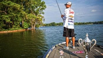 Local hero Anthony Gagliardi won the FLW Cup on Lake Murray in 2014, and he is just one of many anglers happy to see it scheduled for Murray again in 2017.