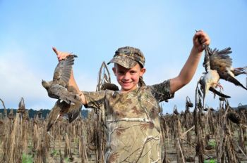 Hunt early and often with other shooters for the best dove results.