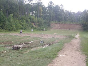 Rifle range users have brought excessive litter in the form of dishwashers, televisions, and other bulky metal objects to shoot, none of which is authorized by the USFS.