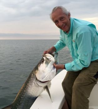 September is the best month to target tarpon in the waters around Georgetown.
