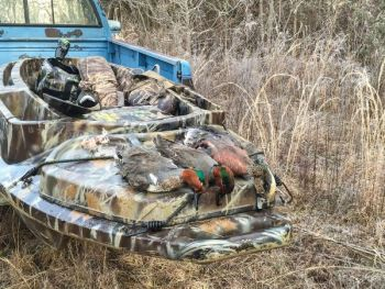 Hunters with access to kayaks or canoes can float rivers or streams during the Oct. 5-8 season, and they'll often wind up with a mixed bag of wood ducks and green-winged teal.