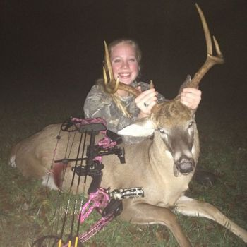 Don't give deer any advance warning of your presence, and you might score on a real wall-hanger like Alisa Green did last season in Wake County, N.C.