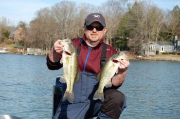Lake Wylie is known for producing some chunky largemouth bass, and for being a great cold-weather lake, thanks to fishermen who understand that a jerkbait is often the ticket.