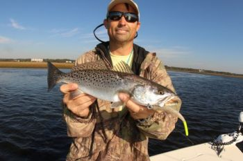 Hurricane Matthew didn't stop the trout bite, which is good news, especially for anglers wanting in on the 14th Annual Jacksonville Trout Tournament Oct. 22.