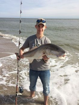 Many fishermen look forward to fall, when the crowds are gone and bull redfish begin showing up.