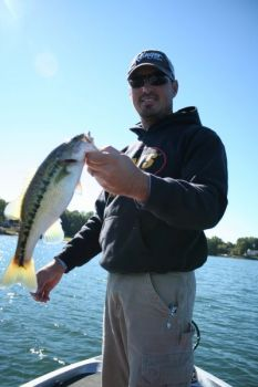 Guide Brad Fowler said Lake Keowee's largemouth and spotted bass will head toward deep water as November progresses.