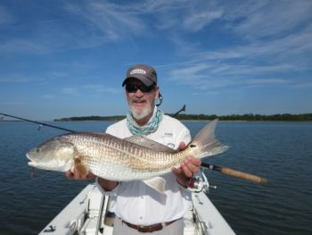 Late fall is probably the easiest time to catch redfish
