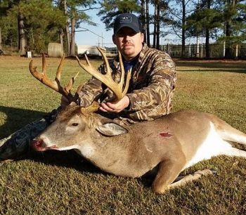 TC Lloyd killed this trophy Darlington County buck just minutes after sitting in his stand.
