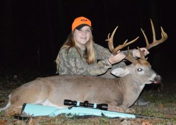 Tori Henderson killed this buck in Person County on Nov. 18 after hunting the deer hard all season.