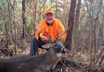 Mike Davis of Burlington downed his second giant Person County buck, a 10-pointer, on December 1, 2016.