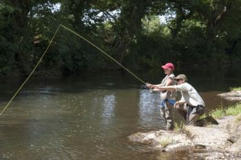 The NCWRC is offering six fly fishing clinics, along with the unique opportunity to catch trout in Fayetteville.