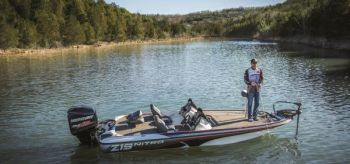 Nitro's Z19 pro package bass boat features a NITRO Vortex Technology hull that carries a 10-year warranty.