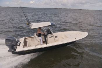 The Shearwater 260 was two years in development before production began.