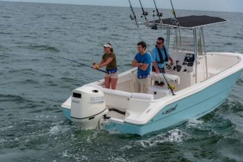The Bulls Bay 2300 CC is a wonderful, no-frills center console that will fit a  lot of anglers' budgets.