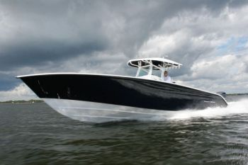 The 36os is a bigger version of Cape Fear's great line of <br /> center-console fishing machines.