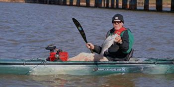 A number of species, like striped bass, are active during cold weather and should be on paddling anglers' to-do lists.