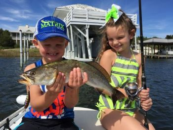 Matrix Minnow results can put a smile on the face of anglers young and old.