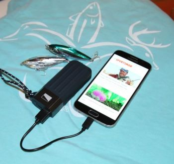 Anglers and hunters will appreciate power on the go from the Lander Cascade Powerbank.