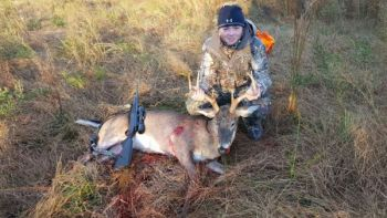 Following these tips will help you bag a late season deer like this Kershaw County, S.C. buck killed by Grant McElveen.