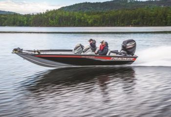 The 195 TXW is the latest in the line of great aluminum boats from Bass Pro Shops'  Tracker Marine line.