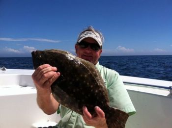 Flounder move to warmer offshore waters to spend the winter around ledges and rocks — still within reach of anglers out of Little River, S.C.