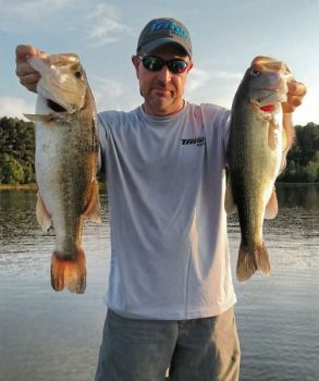 Is Falls of Neuse the best bass-fishing lake in North Carolina? It may be, at least in March.