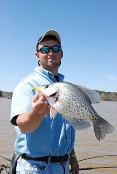 South Carolina's Lake Greenwood offers crappie fishermen plenty of targets.