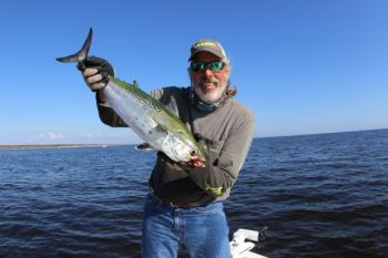 Capt. Ponytail, Rod Thomas, will be one of the speakers at the Triad Saltwater Anglers fishing school in Winston-Salem.