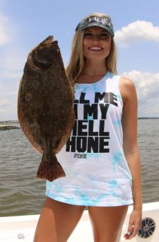 North Carolina's new four-fish limit on flounder applies to coastal, joint, and inland waters.