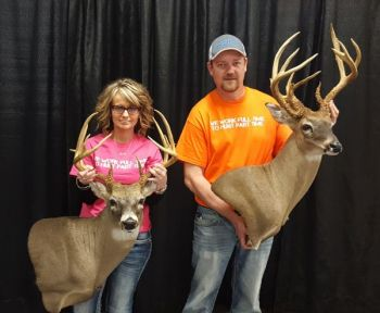 Tootie and Scottie Morris of Team Part Time Whitetails made it a family affair at the 2017 Dixie Deer Classic