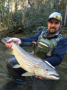 Trout fishermen can get plenty of action with a visit to Cherokee, N.C.