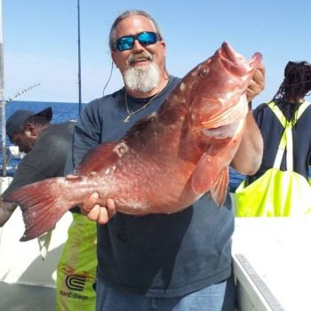 Capt. Dave Tilley said an anchor is the most-important piece of gear on a bottom-fishing trip.