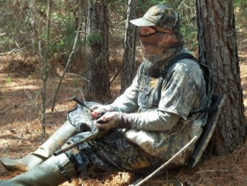 A pot call, be it slate, glass or some other material, can make most any turkey call that's needed.