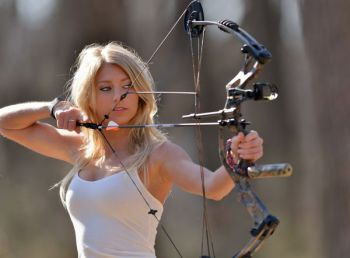 Women 18 and over can learn archery and dozens of other outdoor skills at the NCWRC's BOW Workshop March 31 – Apr. 2.