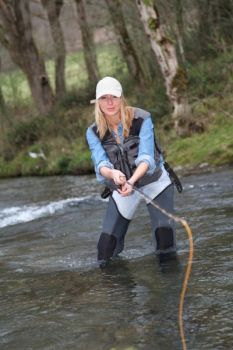 The NCWRC is hosting an all-female fly-fishing weekend in Mills River as part of the Commission's BOW program.