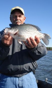 The key to catching spawning crappie is to understand how they approach their spawning areas.
