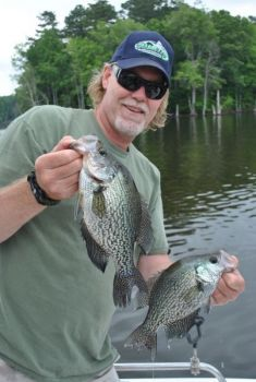 Crappie on Kerr Lake are usually spawning in April, but this year's crop may be finished when April arrives.