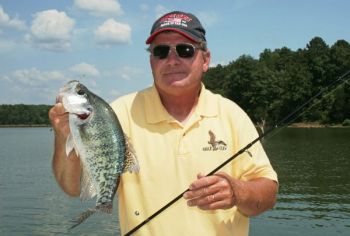 South Carolina is home to all kinds of lakes that harbor crappie.