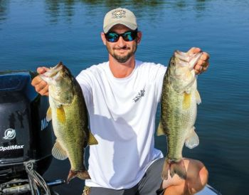 May bass-fishing action at Lake Gaston can produce plenty of quality fish in a variety of places, using a variety of baits, depending on where they are in the spawning ritual.