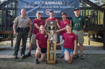 Gray Stone Day School and North Stanly Middle School teams won big at the 2017 Youth Hunter Education Skills Tournament.