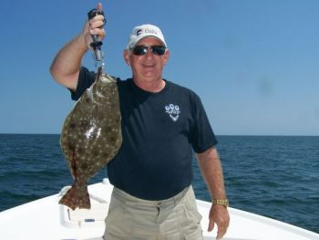 Big flounder and lots of them descend on nearshore artificial reefs and wrecks from North Carolina's Cape Fear to the South Carolina line.