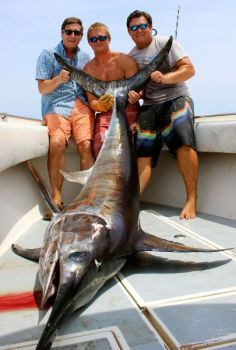 Catching a big swordfish is a memory that few fishermen will ever forget.