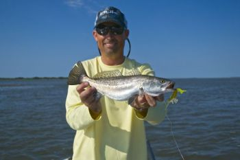 Catching summer trout along the coast of the Carolinas is a matter of knowing times and places.