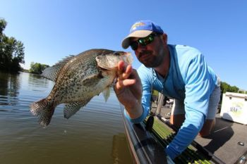 The Wateree River has an undervalued and underfished crappie population just waiting for your minnow.
