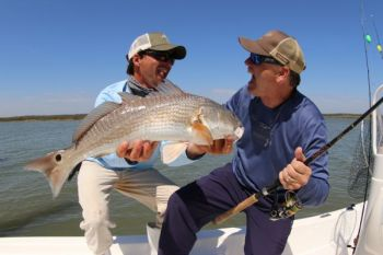 You can win a Sea Hunt boat by catching one of 48 tagged redfish in the CCA South Carolina STAR Tournament.